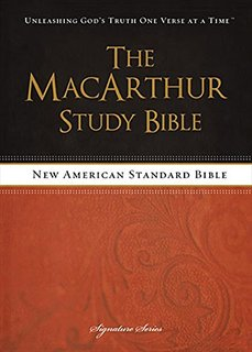 MacArthur Study Bible with NASB