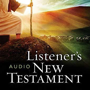 KJV Listener's Audio Bible, New Testament