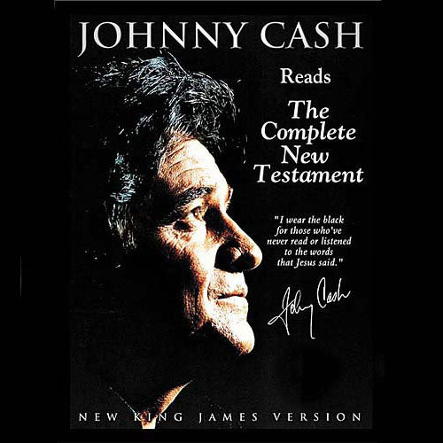 Johnny Cash Reads the New Testament Audio Bible: NKJV