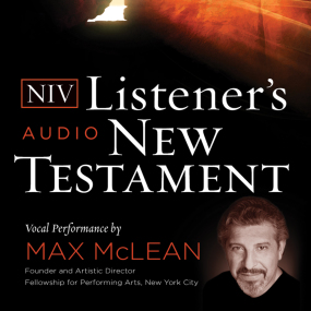 NIV Listener's Audio Bible: New Testament by Max McLean...