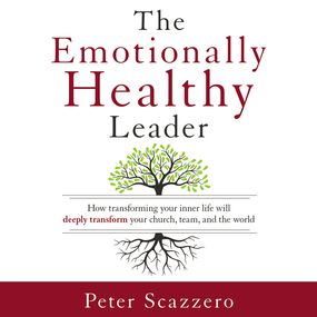 Emotionally Healthy Leader by Peter Scazzero...