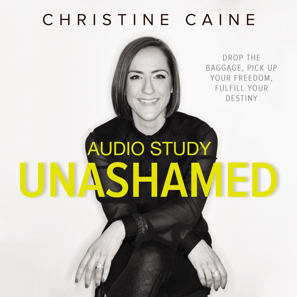 Unashamed Audio Study by Christine Caine...