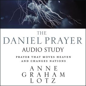 Daniel Prayer Audio Bible Study by Anne Graham Lotz and Anne Lotz...