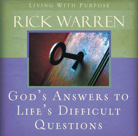 God's Answers to Life's Difficult Questions by Rick Warren and Jay Charles...