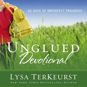 Unglued Devotional by Lysa TerKeurst, Julia Barnett-Tracy...