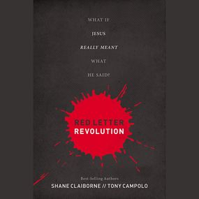 Red Letter Revolution by Tony Campolo, Shane Claiborne, Henr...