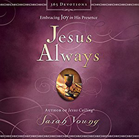 Jesus Always by Sarah Young, Bill Russell and Nan G...