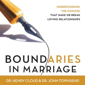 Boundaries in Marriage by John Townsend, Henry Cloud, Dick Fr...