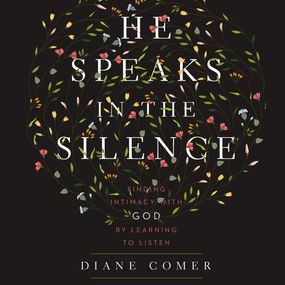 He Speaks in the Silence by Diane Comer and Kristen James...
