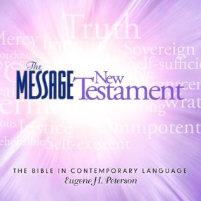The Message Audio Bible New Testament by Eugene H. Peterson...