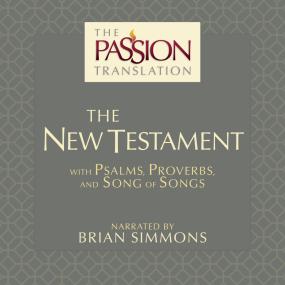 The Passion Translation New Testament Audio Bible, 2nd Edition