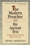 The Modern Preacher and the Ancient Text: Foundations for Expository Sermons
