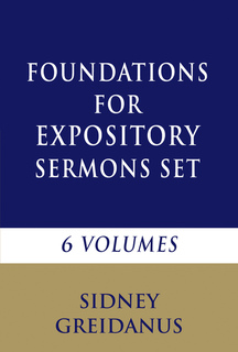 Foundations for Expository Sermons Set (6 Vols.)