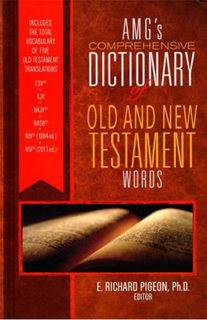 AMG's Comprehensive Dictionaries of the Old and New Testaments