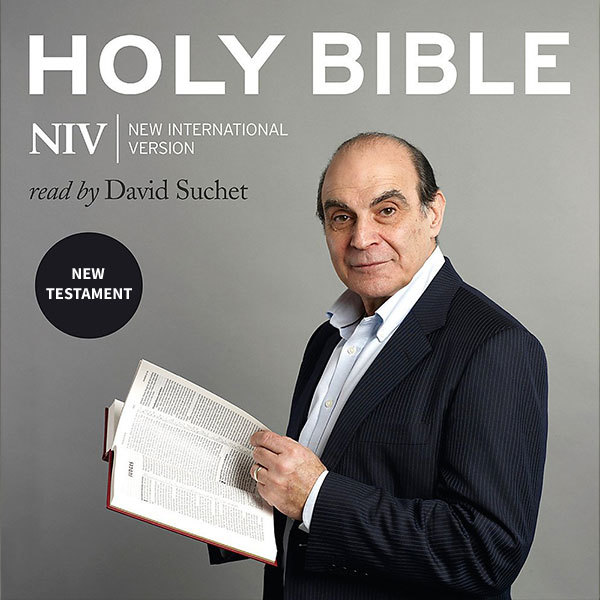 New Testament NIV Audio Bible Read by David Suchet