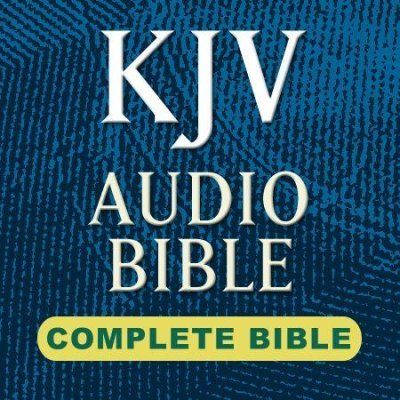 KJV Audio Bible-Voice Only
