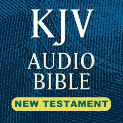 KJV Audio Bible-Voice Only: New Testament