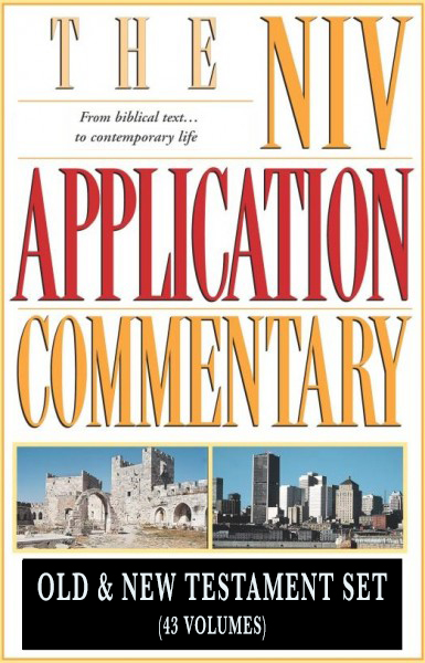 NIV Application Commentary (NIVAC) Old and New Testament Set (43 Vols.)