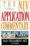 NIV Application Commentary (NIVAC) Old Testament Set (23 Vols.)