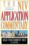 NIV Application Commentary (NIVAC) Old Testament Set (23 Vols.)