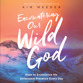 Encountering Our Wild God: Ways to Experience His Untamable Presence Every Day by Kim Meeder...