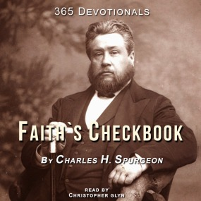 Faith's Checkbook, Read by Christopher Glyn