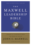 NIV Maxwell Leadership Study Bible, Third Edition