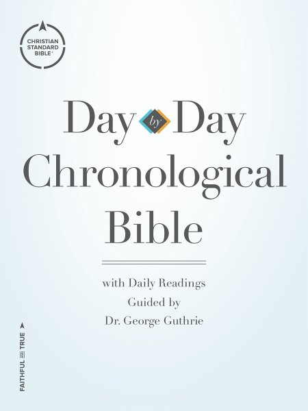 CSB Day-by-Day Chronological Bible