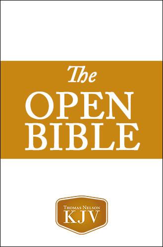 KJV, Open Bible