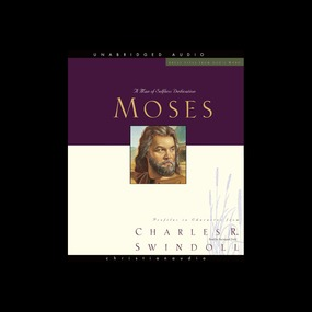 Great Lives: Moses: A Man of Selfless Dedication by Charles Swindoll...