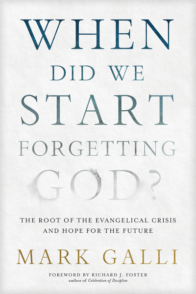 When Did We Start Forgetting God?
