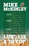 God's Word for You (GWFY) — Luke 1-12