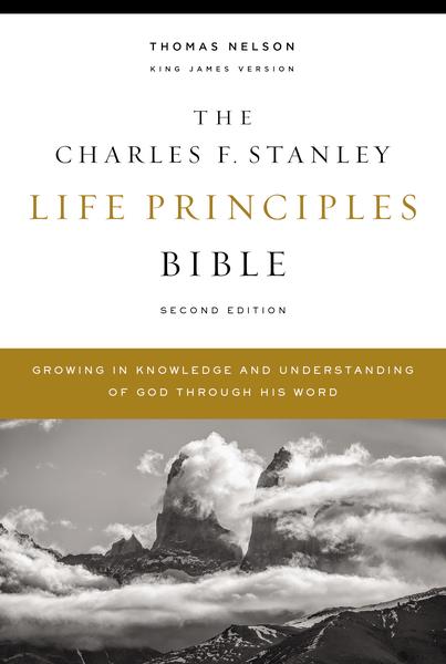 Charles F. Stanley Life Principles Bible 2nd Ed. KJV