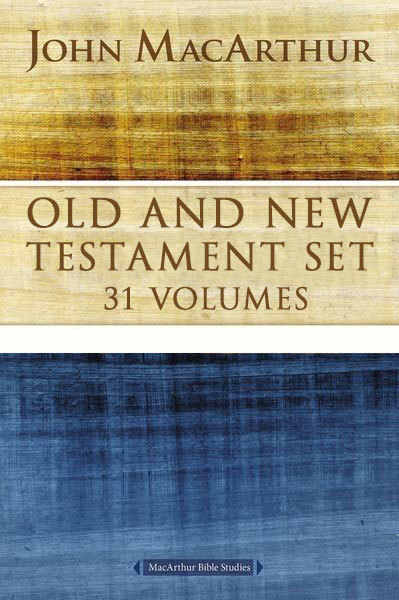 MacArthur Bible Studies Collection (31 Vols.)