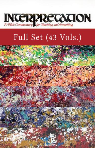 Interpretation: A Bible Commentary Old and New Testament Set  (INT) - 43 Vols.