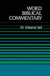 Word Biblical Commentary (WBC), Old and New Testament Set (61 Vols.)