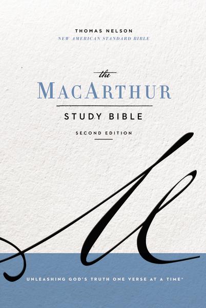 NASB MacArthur Study Bible, 2nd Edition