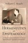 Hermeneutics as Epistemology