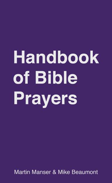 Handbook of Bible Prayers
